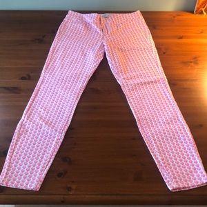 NWOT, Vineyard Vines, Pink SeaShell Jeans, 6